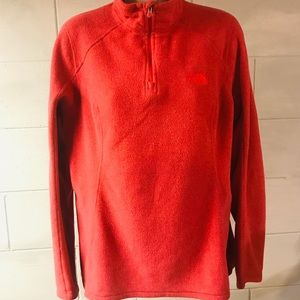 North Face 1/4 Zip Pullover Womens Size Large